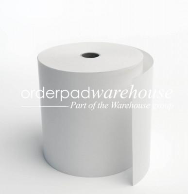 Till Rolls 37 x 80 x 17.5mm Core Plain Single Ply Boxed 40s - 008